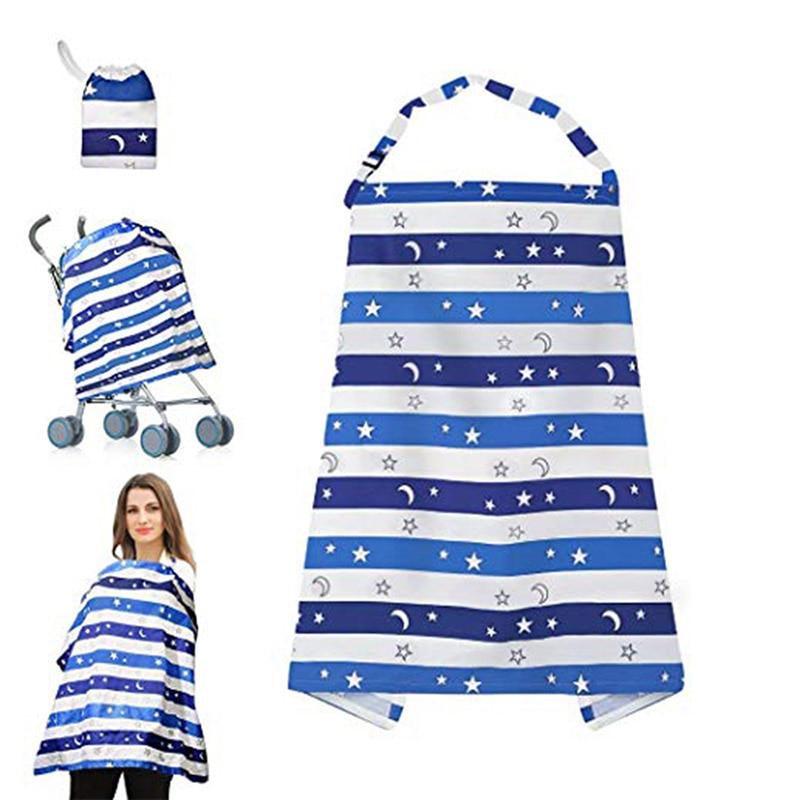 Baby Breastfeeding Nursing Cover Blanket Children Picnic Adjustable Outdoor Newborn Feeding Mum Privacy Breastfeeding Blankets