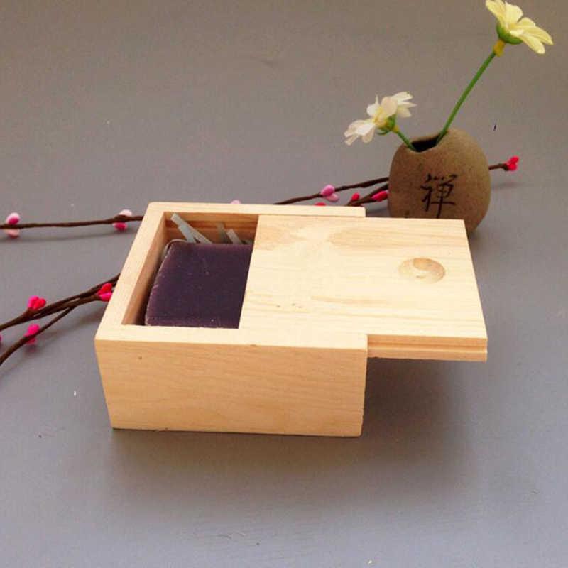 คุณภาพสูงไม้ธรรมดา Candy แหวน Organizer งานฝีมือ Handmade บรรจุภัณฑ์สบู่กล่องไม้ทำด้วยมือเครื่องประดับกล่อง