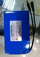 Free ship LiFePO4 12.8v 14.6v 12v 10AH lithium iron phosphate battery monitor lighting battery and chinese 14.6V 4A charger