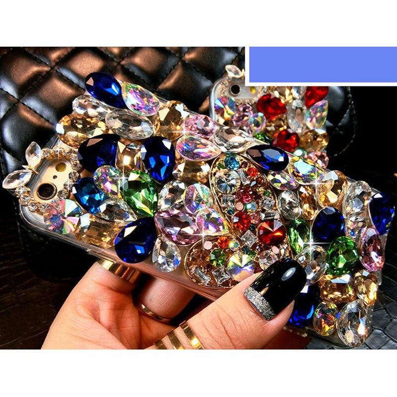 sunjolly Lüks Almaz Diamond Case Rhinestone Bling Cover iPhone 11 - Cib telefonu aksesuarları və hissələri - Fotoqrafiya 3