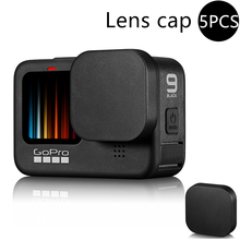Soft Silicone Lens Cap for Gopro Hero 9 Black Anti-drop Dust Resistance Lens Cover Protector