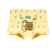 Girls Panties Underwear Boy Brief Children Cat Cute Fashion 2pcs/Lot Infant