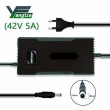 Jangcy 42V 5A ładowarka do baterii litowej 36V 10S do M365 do roweru z zasilaniem elektrycznym z CE FCC ROSH