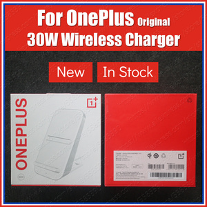 Qi/EPP Air Cooling OnePlus Wireless Charger 30W Warp Charge Smart Bedtime Mode PC V0 300g For OnePlus 8 Pro(China)