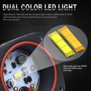 Image 4 - 2 inch LED Work Light 8D lens Driving Light led fog lights For Car 4x4 offroad SUV ATV Tractor Boat Trucks Motorcycle 12V 24V