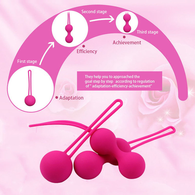 Safe Silicone Medical Kegel Balls Sex Toys for Adults Women Vaginal Chinese Balls Geisha Ball Vagina Tighten Exercise Machine 1
