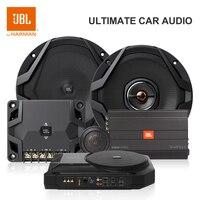 """Harman JBL Basspro SL voiture Subwoofer amplificateur intégré puissance haut et bas niveau Hifi Auto Audio mince 125W 8 """"200mm"""