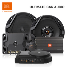 Car-Subwoofer-Amplifier Audio Lower-Level Jbl Basspro Hifi Auto Power-High Built-In Slim