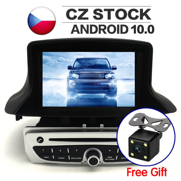 10.0 Radio Stereo <font><b>GPS</b></font> For Renault <font><b>Megane</b></font> 3 Fluence 2009 2010 2011 2012 2013 -2015 Car <font><b>DVD</b></font> Player navigation Multimedia Auto IPS image