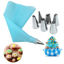 Pastry-Bag Kitchen-Accessories-Tools Baking-Tools Cake-Decorating Home-Gadget Silicone