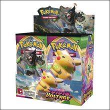 Pokemones espada e escudo vívido voltage booster display (36) en inglês pokemones cartões