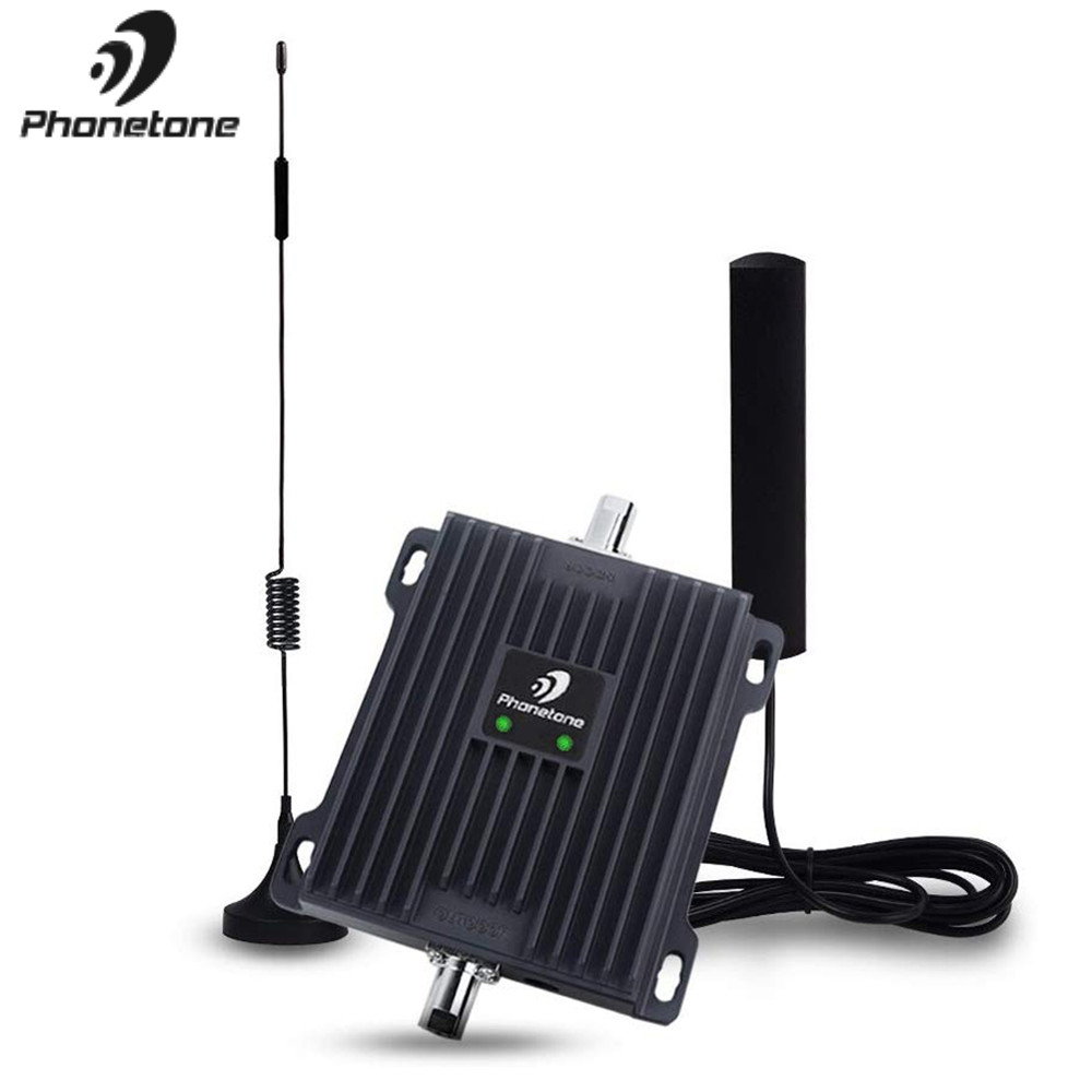 Cellular Signal Booster 4G LTE Amplifier 800/900MHz Gain 45dB Communication Mobile Network Booster Repeater For Car Truck Boat