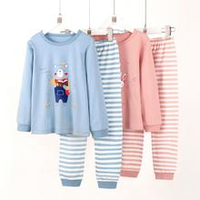 95% cotton kids autumn and winter  Long John Underwear for height 90-150cm 1068
