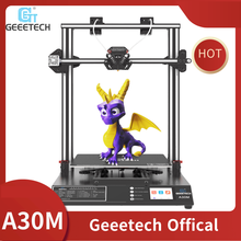 3D-принтер GEEETECH A30M, бесшумная разноцветная печать, высокая точность 320*320 * мм ³, сенсорный экран, увеличенный срок службы датчик накаливания FDM