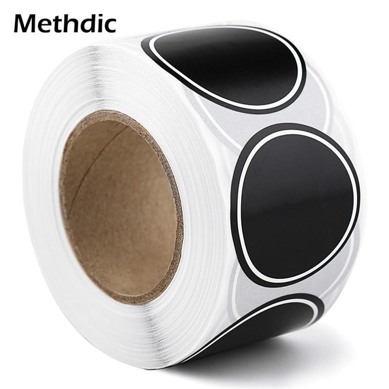 Methdic 500labels/roll Food Label Sticker Labels For Spice Jar Bottles