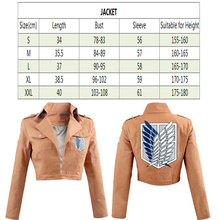 Coat Jacket Legion Attacks Shingeki Fantasia Masonic Cosplay No-Kyojin Anime Giant Fashionable