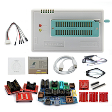 Best V9.0  TL866II Plus Universal Minipro Programmer+24 Adapters+Test Clip TL866 PIC Bios High speed Programmer