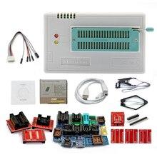 Beste V9.0 TL866II Plus Universal Minipro Programmeur + 24 Adapters + Test Clip TL866 PIC Bios Hoge snelheid Programmeur