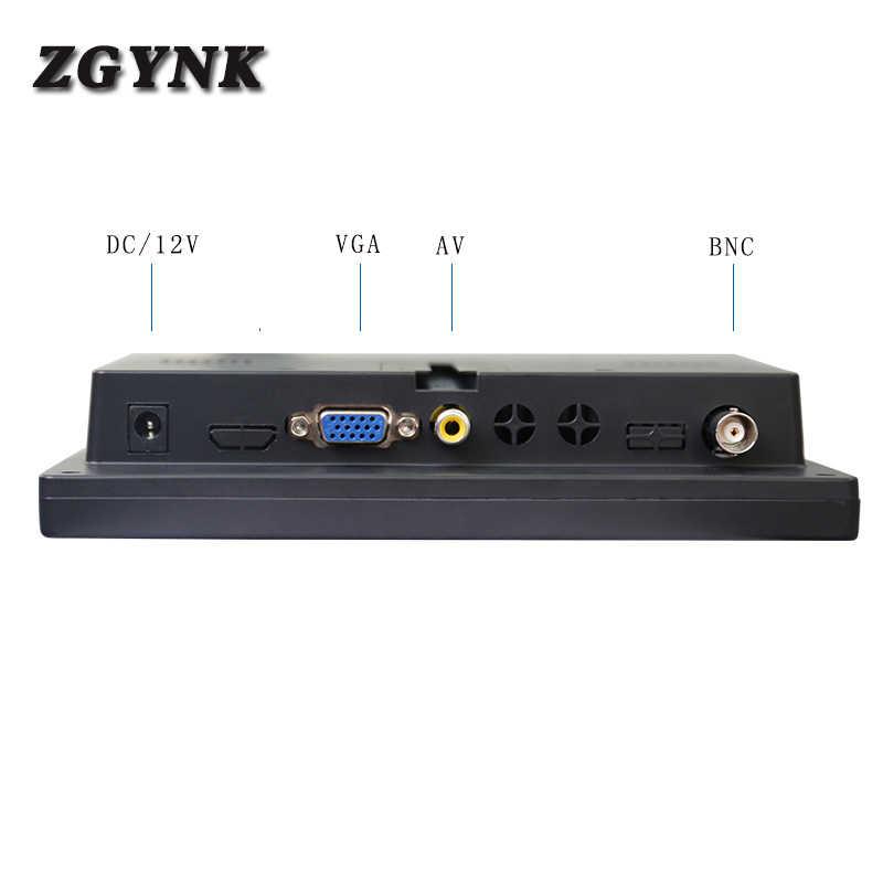Dispositivo de monitoreo LED HD portátil de 7 pulgadas, ordenador HDMI, LCD industrial, mini pantalla USB, función multimedia