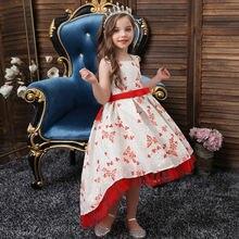 Платье для маленьких девочек кружевное платье крещения дня рождения