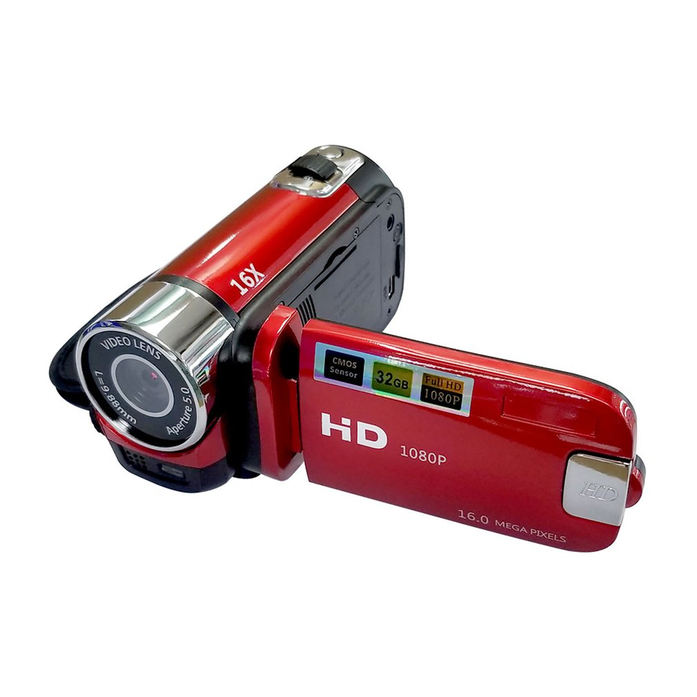Tragbare <font><b>16</b></font> <font><b>MP</b></font> 1080P Kamera Dv Digital Kamera Handheld-Hd Hd Kamera Outdoor Digital Kamera Kreative Geschenk image