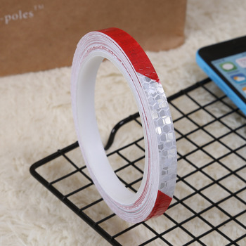 1cmx8m Bike Reflective Stickers Cycling Fluorescent Reflective Tape MTB Bicycle Adhesive Tape Safety Decor Sticker Accessories 7