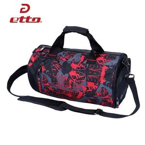 Image 3 - Etto wodoodporna torba na siłownię trening Fitness torba sportowa przenośna torba podróżna na ramię niezależne buty przechowywanie torba koszykarska HAB011