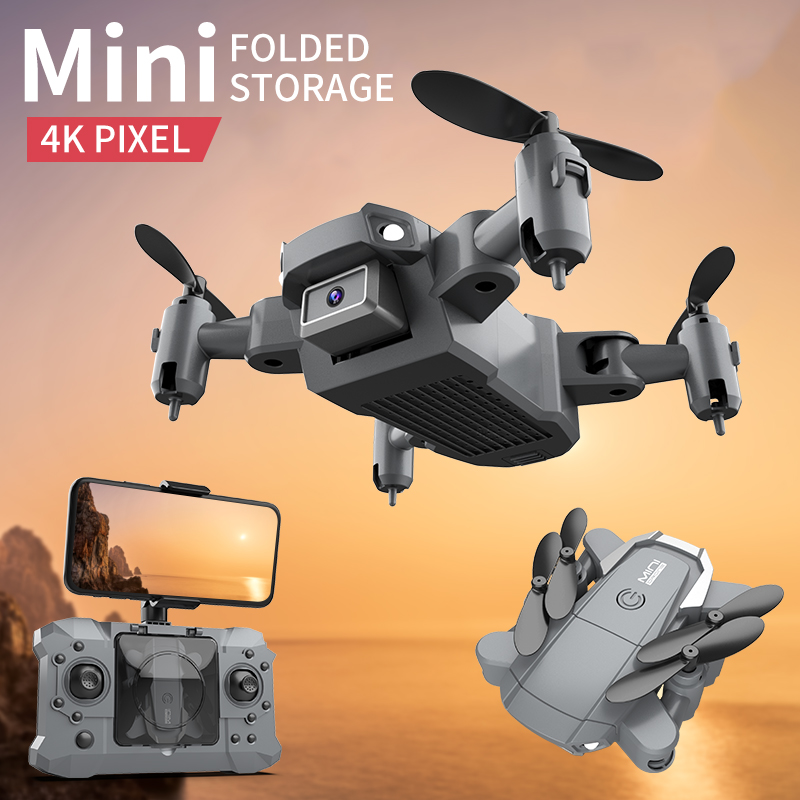 KY905 Mini Drone 4K Profesional HD Camera Wifi FPV Foldable Dron Quadcopter One-Key Return 360 Rolling RC Helicopter Kid's Toys 3