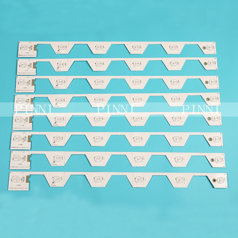 LED Backlight Strip 6 Lamp For TCL B50A658U  U50S6806S L50E5800A LVU500NDEL SW-4C-LB5006-YH2  TMT_50E5800_8X6_3030C
