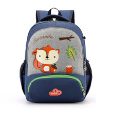 2019 Summer School Bag Fashion Cartoon Children School Bags for Grade 1-2 Primary School Students Polyester Soft Back Scool Bag(China)
