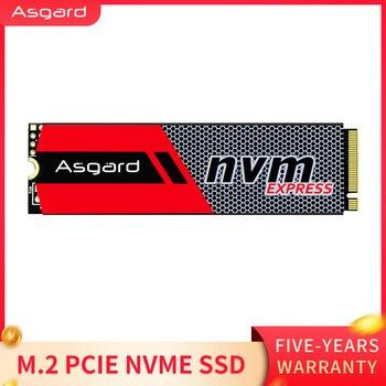 قرص صلب داخلي أسجارد ثلاثي الأبعاد NAND 256 جيجا بايت 1 تيرا بايت M.2 NVMe pcie SSD لسطح المكتب للكمبيوتر المحمول عالي الأداء PCIe NVMe