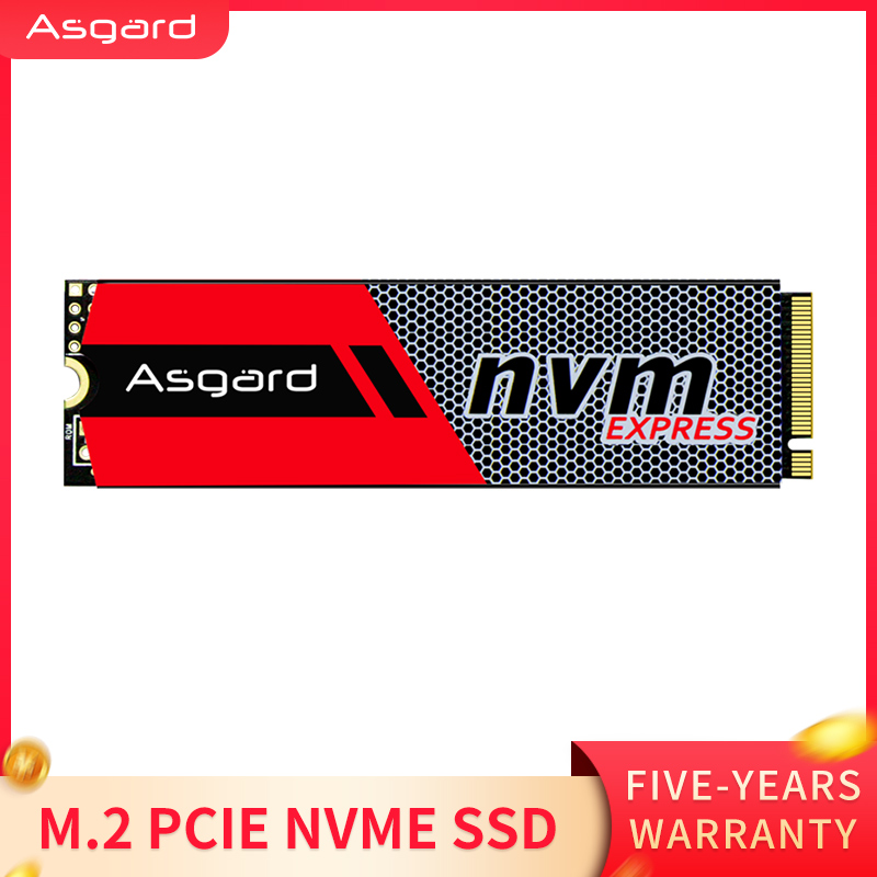 Más Vendidos Asgard 3D NAND 256GB 1TB M.2 NVMe pcie SSD disco duro interno para ordenador portátil de alto rendimiento PCIe NVMe Unidades de estado sólido internos    - AliExpress