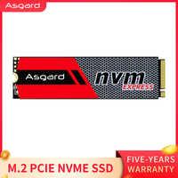 Meilleures ventes Asgard 3D NAND 256GB 1 to M.2 NVMe pcie disque dur interne SSD pour ordinateur de bureau haute performance PCIe NVMe