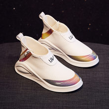New Women 's Increased Vulcanized Shoes Autumn Sneakers Breathable CASUAL SHOES Female ulzzang Platform Flats Fashion Sneakers