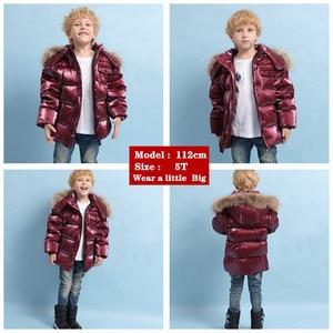 Image 3 - ブランドorangemom 2020冬の子供服ジャケットコート、子供服上着コート、白アヒルダウンガールズボーイズジャケット