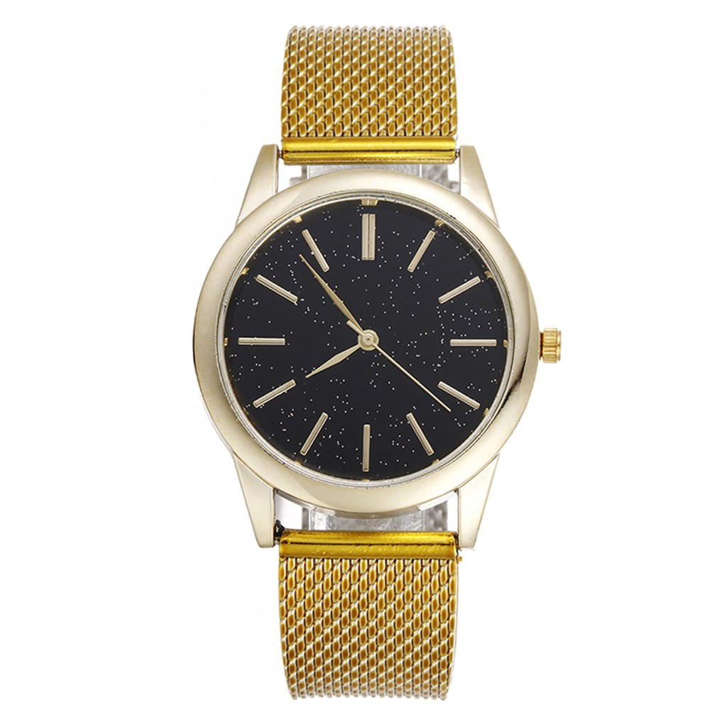 2020 New Men's Quartz Watch Luxury Starry Sky Scale Dial Wrist Watch Top Rose Gold Men's Analog Clock Watch Relogio Feminino 5