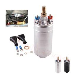 Zewnętrzny Inline pompa paliwa 12V wtrysku paliwa wymiana uniwersalny dla Bosch 044 0580254044 300LPH akcesoria samochodowe w Dopływ i oczyszczanie paliwa od Samochody i motocykle na