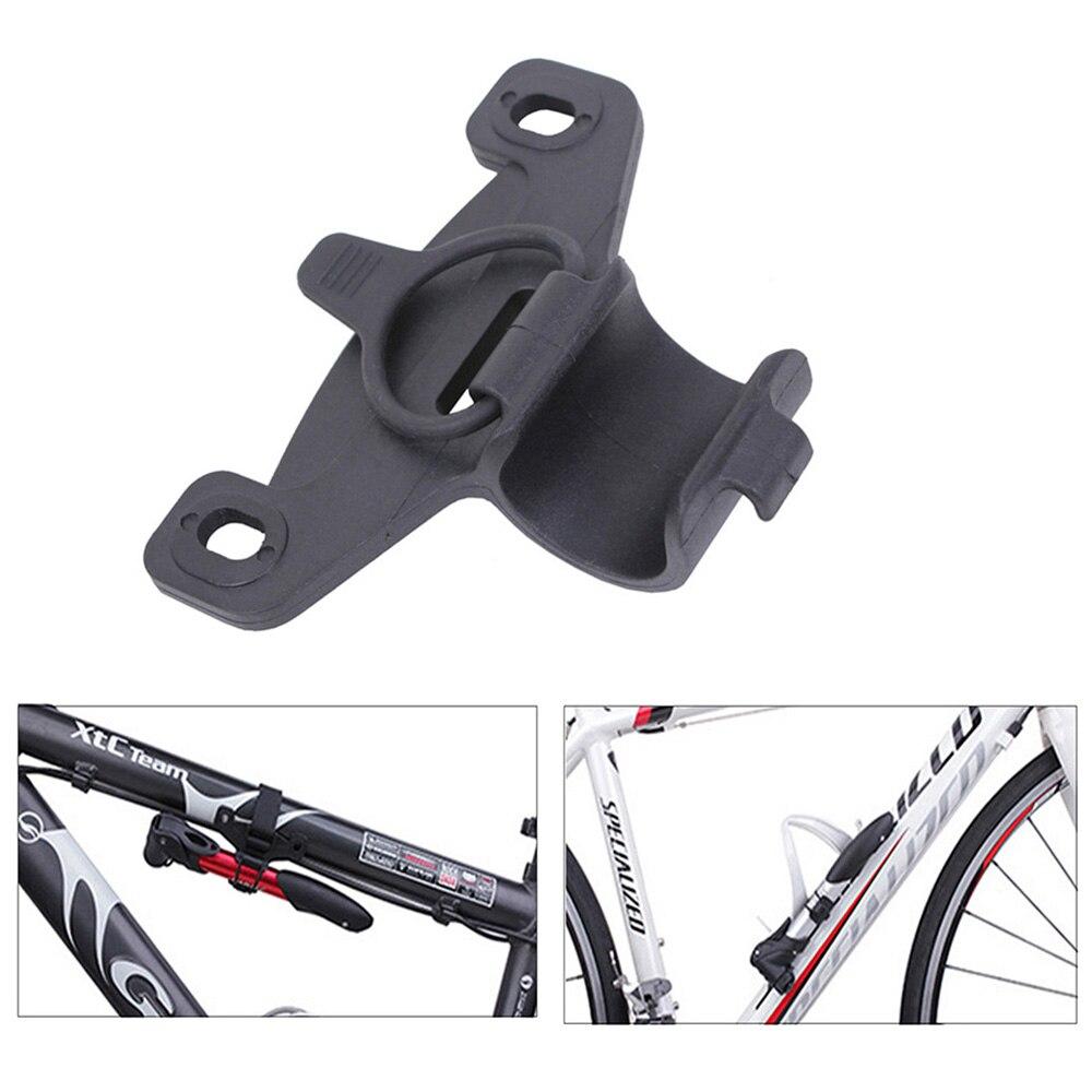 1 Pcs Mini Bicycle Pump Clip Black Nylon Plastic MTB Road Bike Inflator Holder Mount Bicycle Accessories