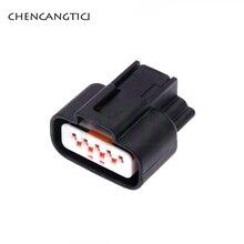 2 Sets 5 Pin Way Automotive Waterproof Connector Plug 0.6MM Female Socket DJ7052K-0.6-21