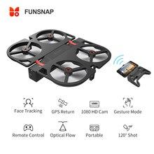 Funsnap Idol FPV RC Drone 4K GPS Quadrupter Professional Drone กล้อง HD 1080P AI ท่าทางสำหรับ Xiaomi Youpin 4K Drones