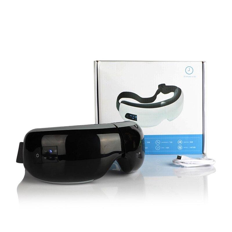 Bluetooth música elétrica olho massageador pressão de