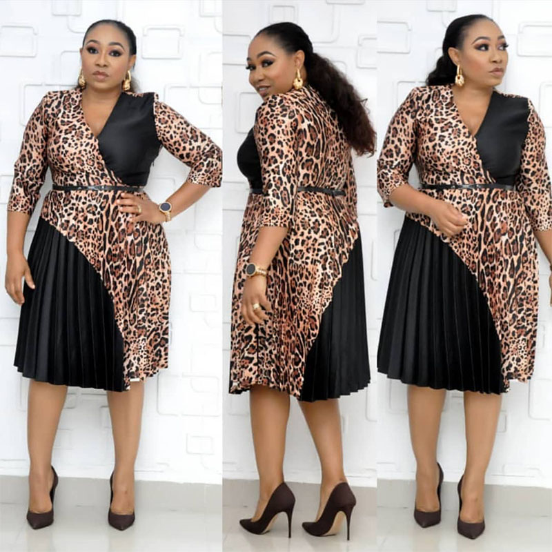 Африканские платья для женщин Дашики 2019 Новая африканская одежда Базен богатый сексуальный плиссированный принт Африка платье Анкара