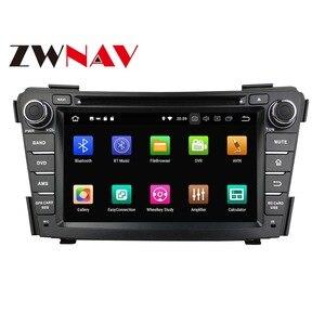 Android 10,0 64G Автомобильный GPS навигатор Автомобильный DVD плеер для HYUNDAI I40 I-40 2011-2016 мультимедийный плеер радио магнитофон головное устройство