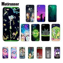 Motirunner Rick Morty Silicone Phone Case Cover For IPhone 8 7 6 6S 6Plus X XS MAX 5 5S SE XR 10 Cases 11 Pro Max motirunner and white moon creative silicone phone case cover for iphone 8 7 6 6s 6plus x xs max 5 5s se xr 10 11 pro max