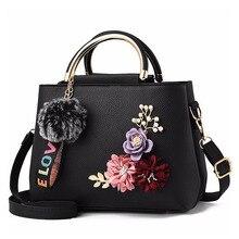 Modne kwiaty projektant torby na ramię ze skóry Pu dla kobiet Vintage mała na ramię torebki damskie Top na co dzień