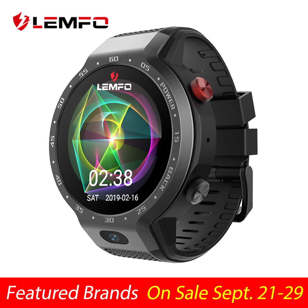LEMFO LEM9 Dual Systems 4G Smart Watch Android 7.1 1.39 Inch 454*454 Display 5MP Front Camera 600Mah Battery Smartwatch Men