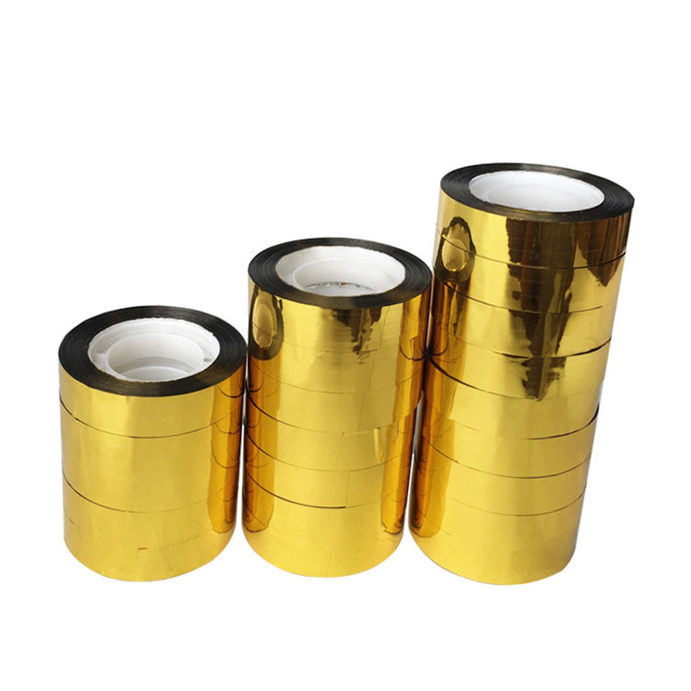 Golden Laser Tape Shining Golden Packaging Tape For Many Kinds Of Package ReflectiveTape