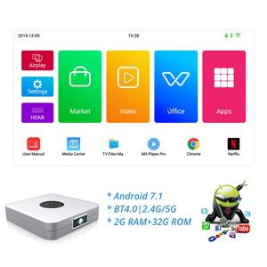 Image 2 - TouYinger K2 DLP Bluetooth Smart Android projector Wifi support FULL HD Video Mirroring 2GB RAM 32GB ROM home cinema movie 3D