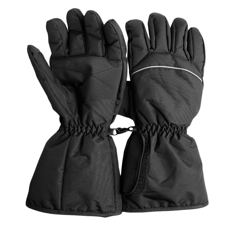 TOP!-Gloves Electric Battery Heated Gloves Sport Temperature Control Rechargeable For Motorcycle Hunting Winter Warmer