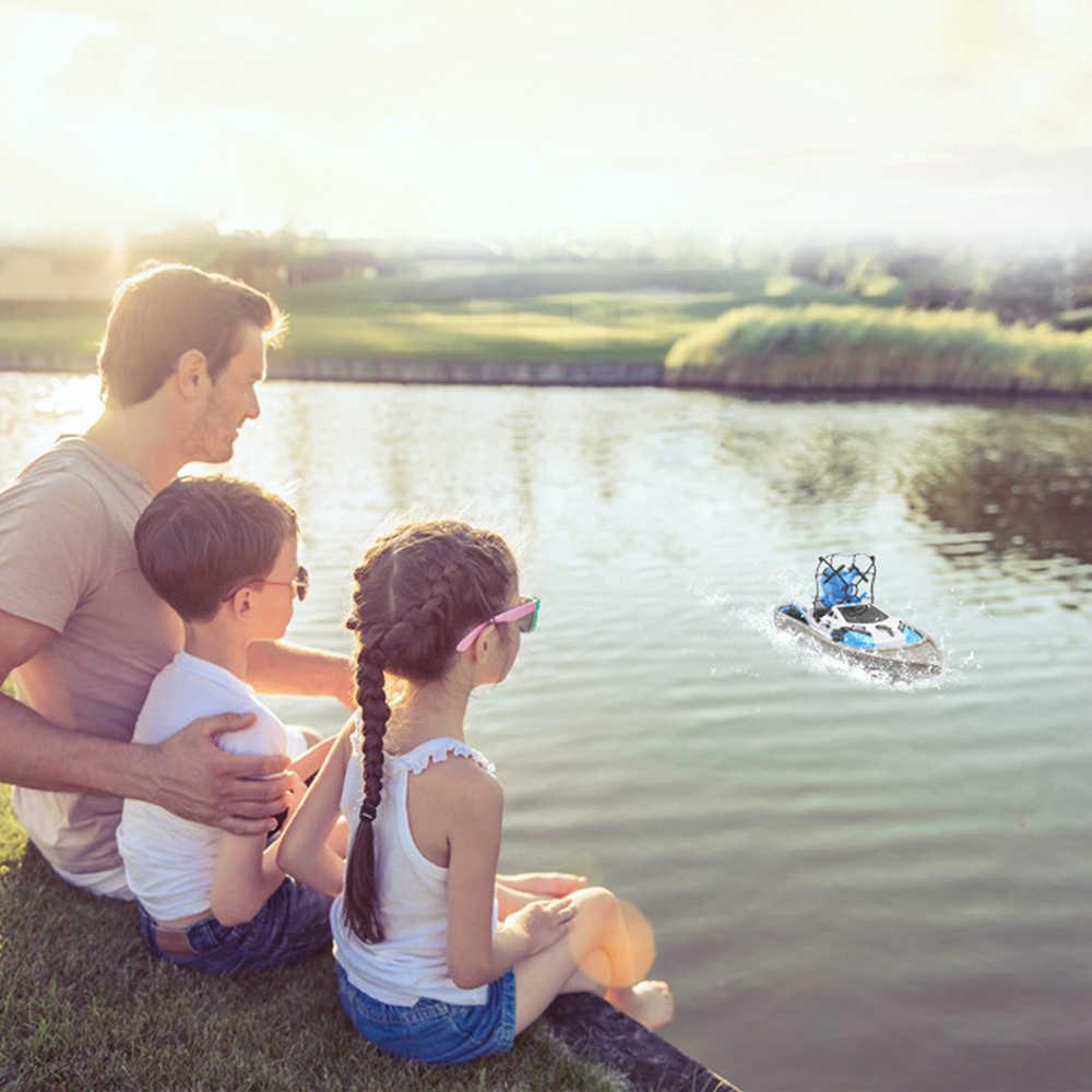 RC tekne 3 In 1 su zemin hava modu üç modu başsız modu irtifa tutun RC helikopter yeni oyuncak arabalar için çocuklar
